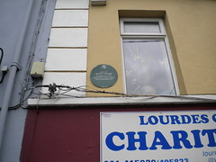 Photo of Richard Daly green plaque