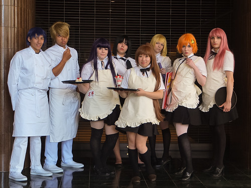 Working! cosplay group