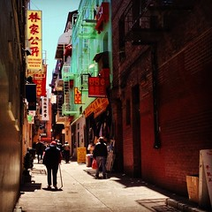 Chinatown Alleyway