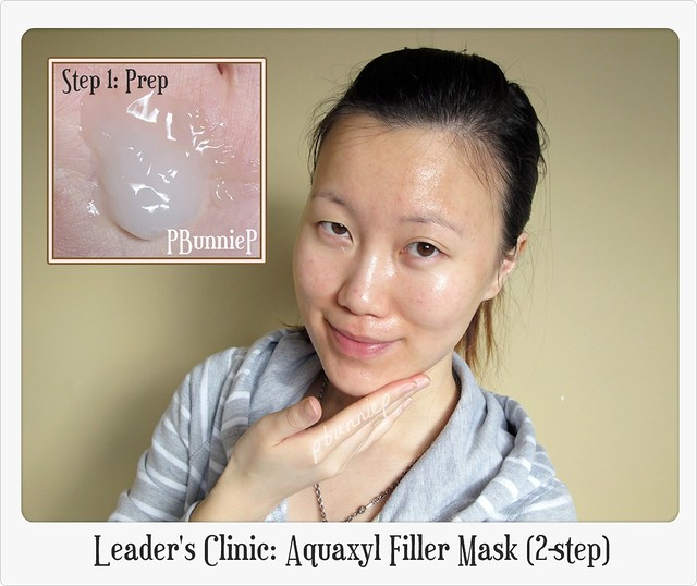 Leader's Clinic Aquaxyl Filler Mask (2-step)-4