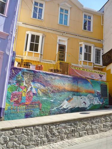 Cerro Alegre graffiti