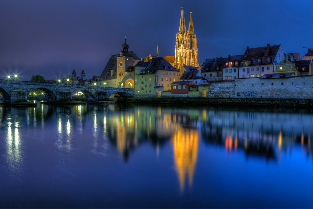 Danube Flood In Regensburg Flickr Photo Sharing
