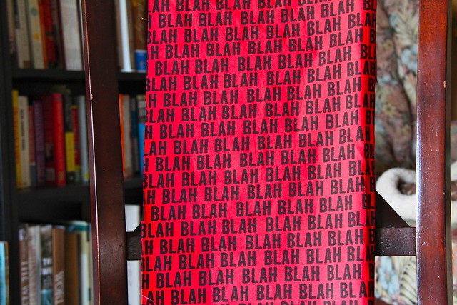 Blah blah by Robert Kauffman