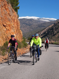 Sierra Nevada cycling