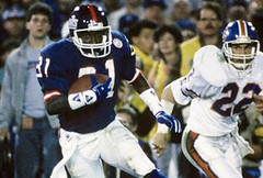 Former Giants' WR Stacy Robinson Dies at 50