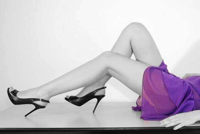 Legs, Violet