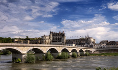 Amboise - Loire-Bridge and Château
