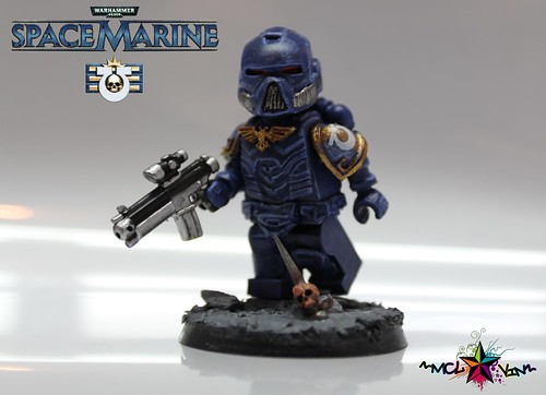 Tactical Space Marine of the Ultramarines