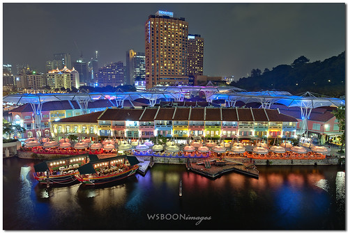 Clarke Quay Night @ Singapore River_0730