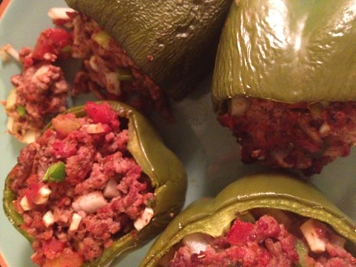 365 Paleo Recipe Project: DAY 32 - Italian Stuffed Bell Peppers