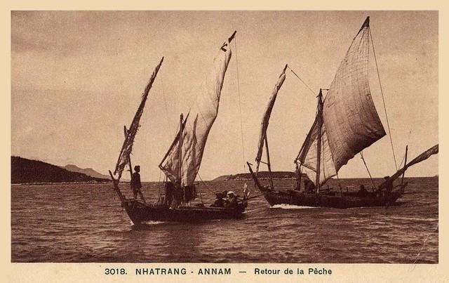NHATRANG - Retour de la Pêche