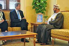 Secretary Kerry Meets With Omani Minister Responsible for Defense Affairs Sayyid Badr al-Busaidi