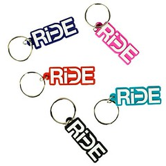 Free RiDE keychains with Yelp/Facebook check ins or purchase all memorial day weekend.