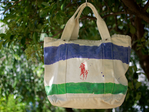 Ralph Lauren / Canvas Rescue Tote Bag