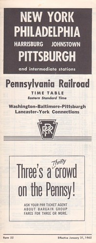 PRR 1965 Pittsburgh Cover