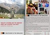 2 page brochure design for India Study Abroad Center, Mumbai. NPR Design