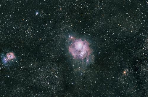 M8 Lagoon Nebula & M20 Trifid Nebula