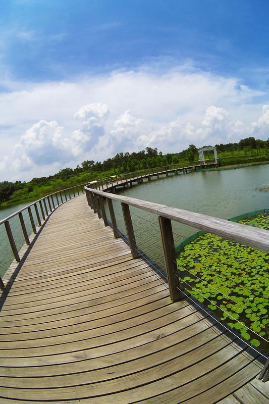 香港濕地公園 BY PENTAX Q 魚眼