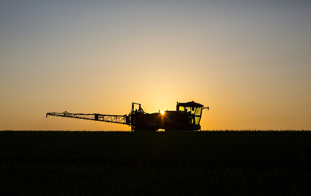 Crop Spraying by Mark L Edwards