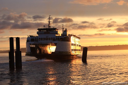 water ferry sunrise island boat vashon