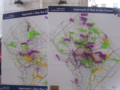 People's suggestions for the DC Transportation Plan