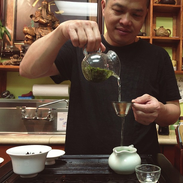 Tea tasting #chinatown #sanfrancisco