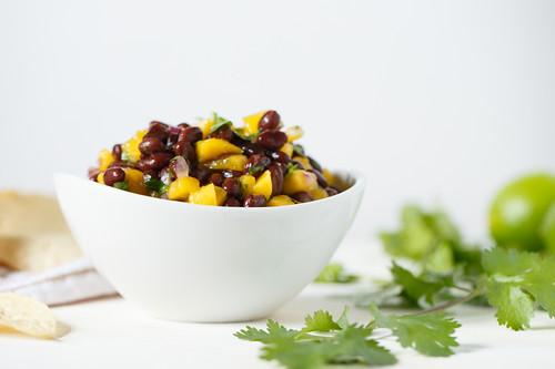 black bean mango salsa
