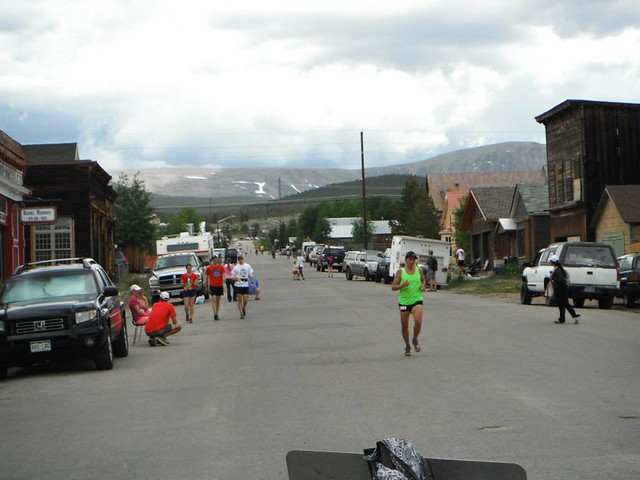 Leadville Trail Marathon 2013