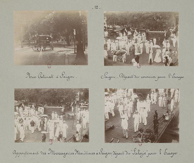 SAIGON 1895 (4) - Những trang album xưa