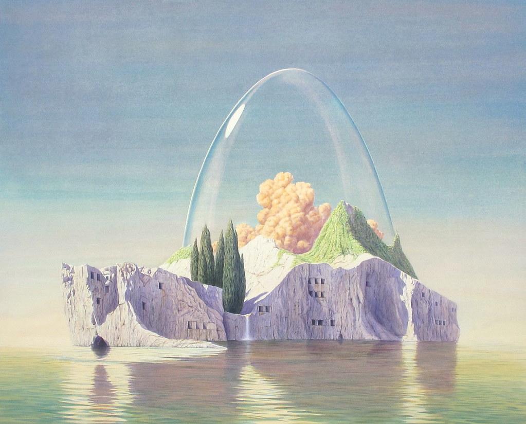 Tristram Lansdowne-Hermetic-Island-34-by-43.5-2010