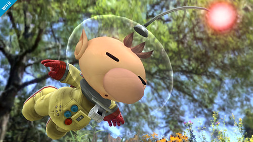Pics Captain Olimar & the Pikmin Join Super Smash Bros. Brawl Wii U / 3DS