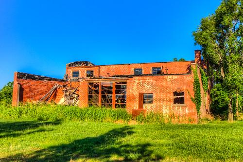 school abandoned hdr ©allrightsreserved digitalidiot