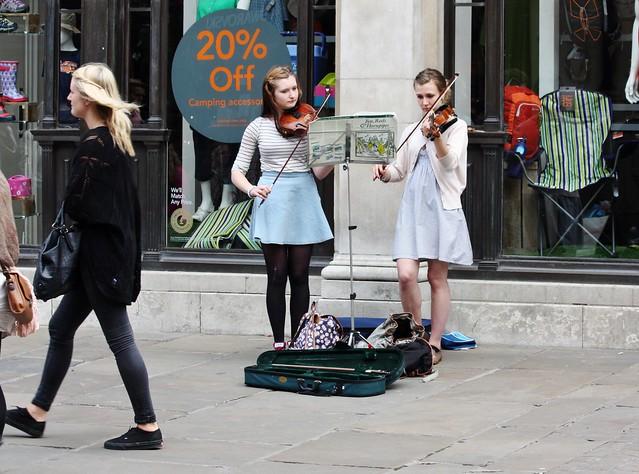 York City Centre - June 2013 - Candid - Serious Musicians