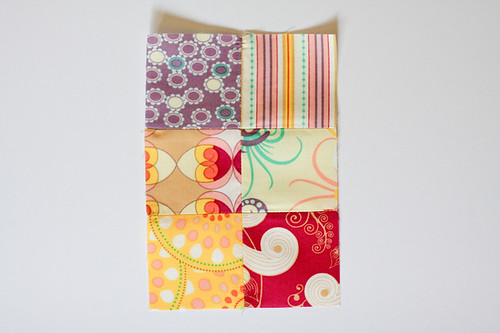 Patchwork Bunting Tutorial by Jeni Baker