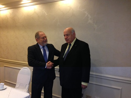 OAS Secretary General Met with the Minister of Justice and Public Security of El Salvador