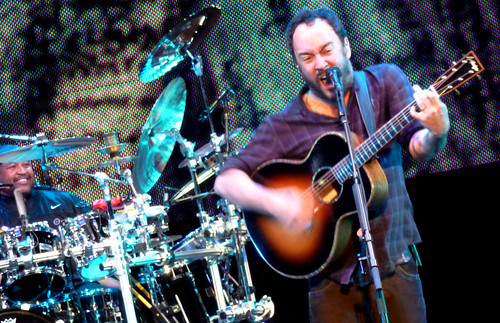 Carter Beauford and Dave Matthews