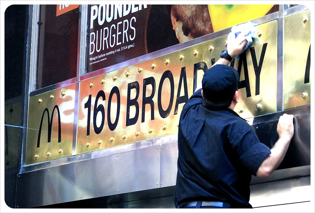 new york broadway mcdonalds