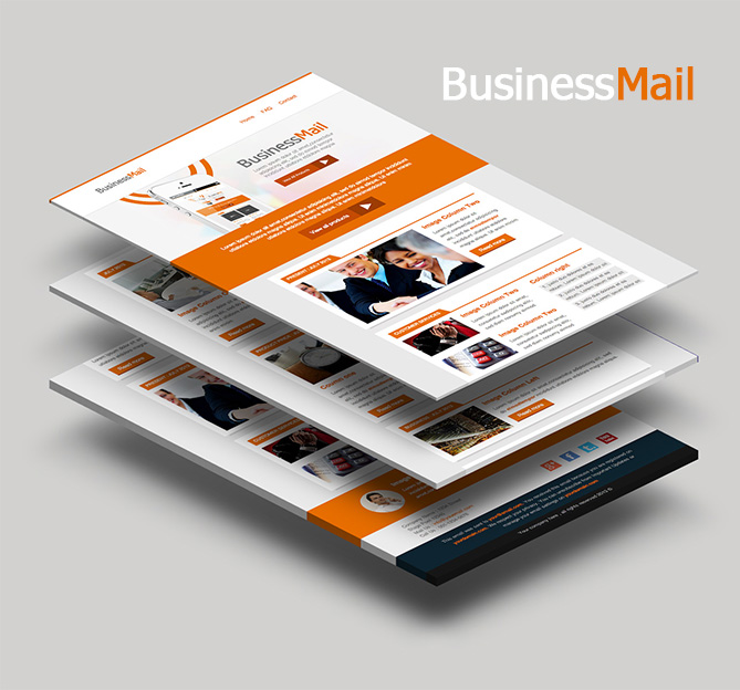 BusinessMail Responsive Email Template