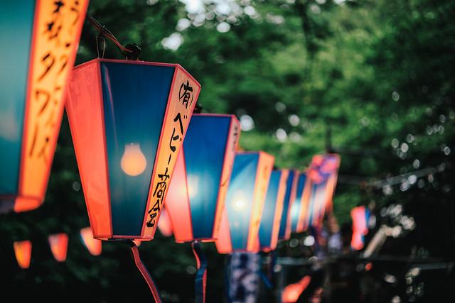 西久保八幡神社例大祭。