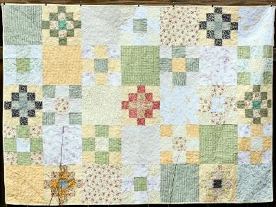 Reclaimed Fabrics - Quilt