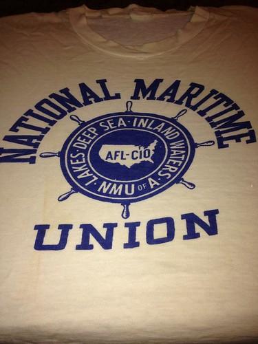 MaritimeUnionShirt March on Washington