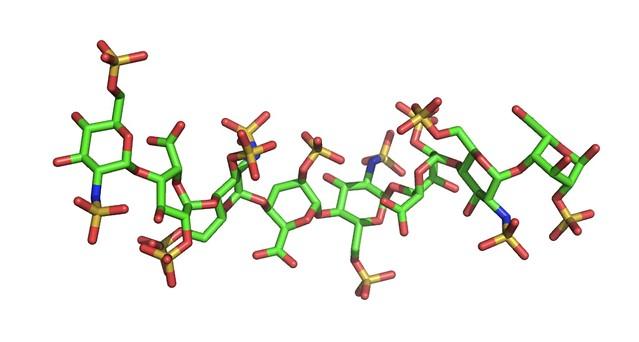 Header of heparin