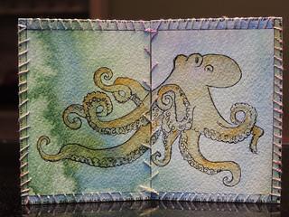 Octopus diptych