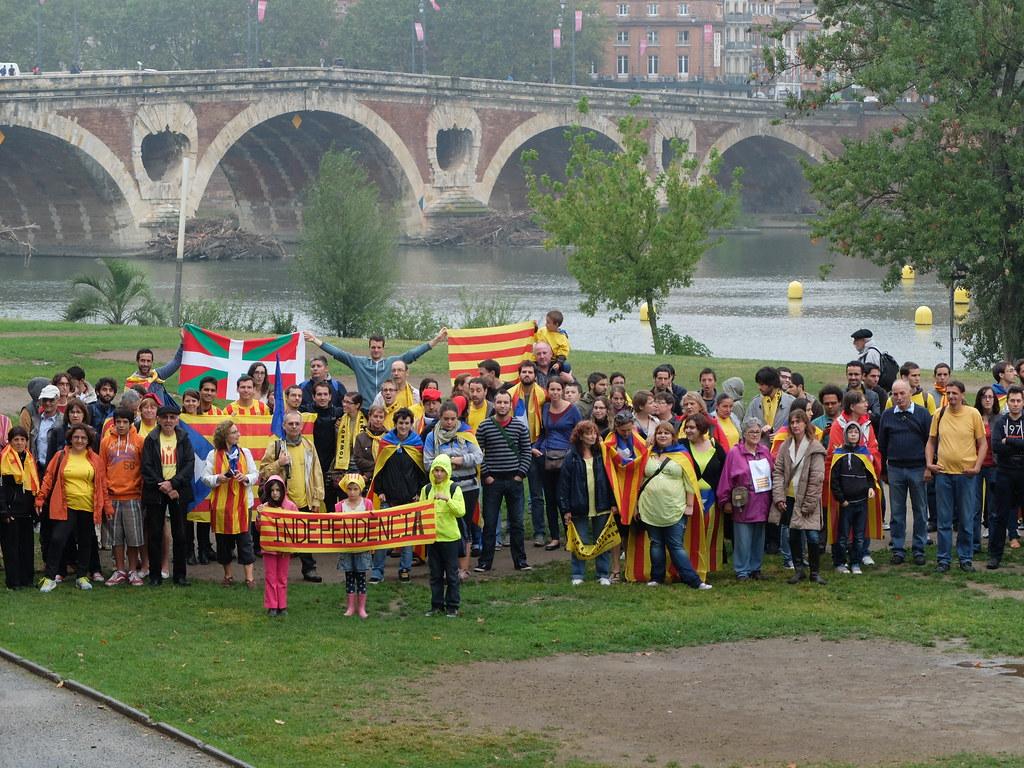 #viacatalana Katalunian