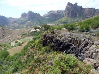 Gran Canaria - Artenara in the Spring