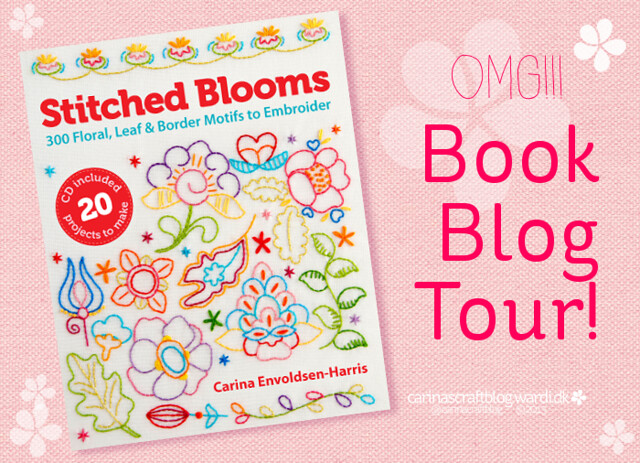 Stitched Blooms blog tour!