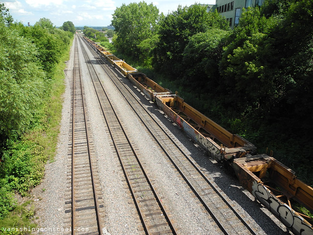Sherbrooke train tracks