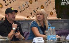 Артур Беркут, пресс-конференция в Минске