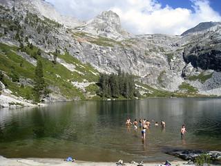 Orientation Adventure 2013 - Hamilton Lake in Sequoia National Park