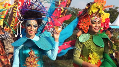 Colorful of Palu Fashion, Arts and Culture Carnival, 2013